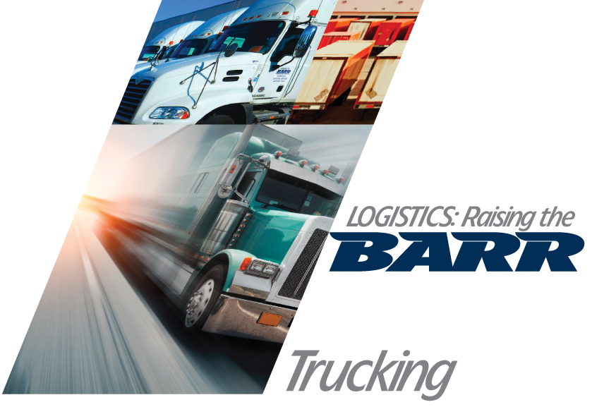 BARR FREIGHT SYSTEM - Trucking Services, Local LTL LCL pickup delivery, domestic freight, international high priority, intermodal drayage, Last Mile. Green light Barr Freight System today!